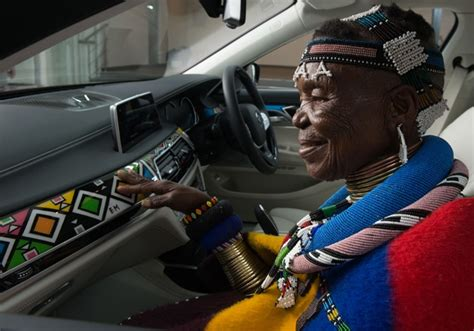 Esther Mahlangu's BMW 7 Series Individual now available in