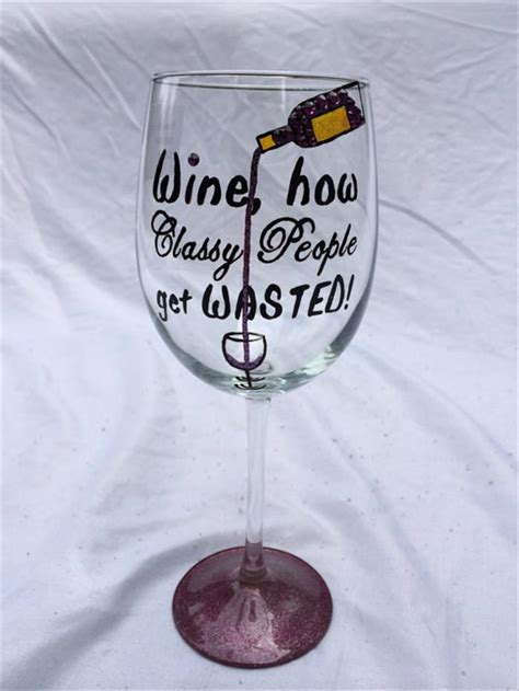 When You've Had A Rough Day, These Wine Glasses Understand