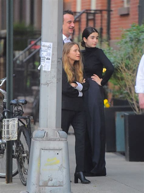 MARY KATE OLSEN and Olivier Sarkozy Out in New York 06/11
