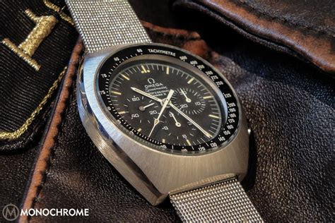 When Omega Re-Issues The Speedmaster Mark II, Monochrome's