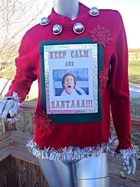 Will Ferrell Elf Ugly Christmas Sweater | Buddy the elf