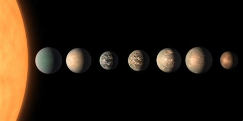 Trappist-1 Exoplanets Have Too Much Water, Could Alien