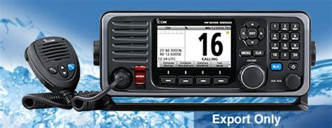 GM600 GMDSS Fixed Mount - Features - Icom America