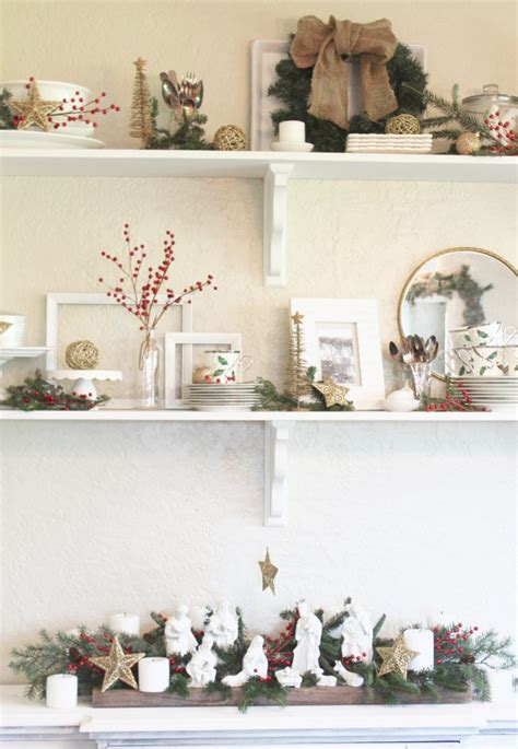You Can't Stop Staring At These Stunning Christmas Shelf
