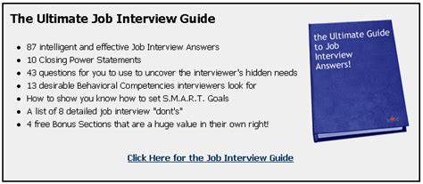 pata: job interview weaknesses