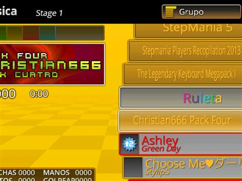 [Stepmania Packs] - Christian666 Pack Four - Juegos en