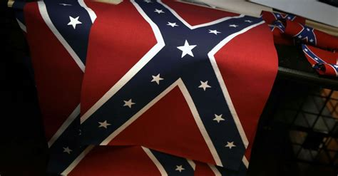 The Confederate flag is a symbol of racism