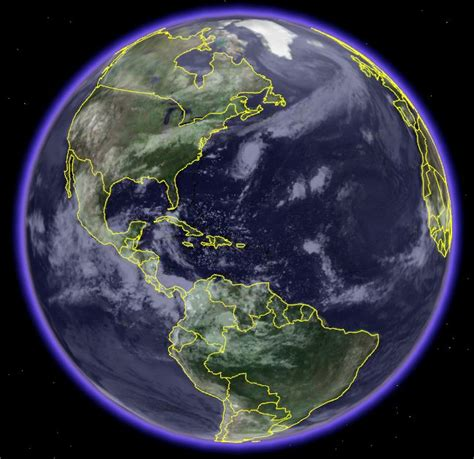 Clouds of the Earth - Google Earth Blog