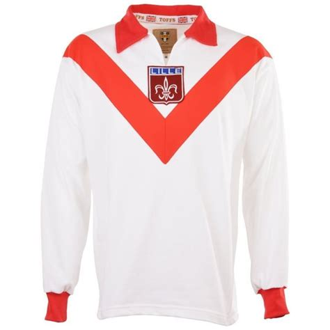 OSC Lille Retro Fussball Trikot Coupe de France 1955