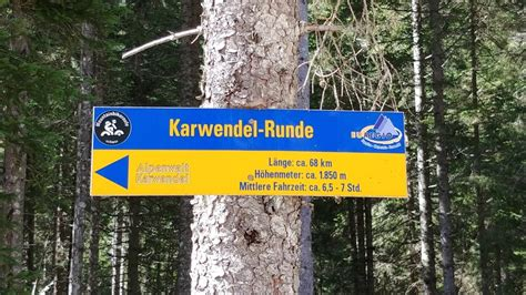 Mountainbike: Karwendelrunde (Tour 170086)