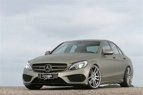 New Mercedes-Benz C-Class Sedan (W205) Tuned by Inden