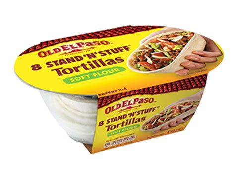 Stand 'N' Stuff™ Soft Flour Tortillas - Products - Old El