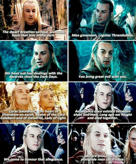 I love Haldir so much! He should not died or at least