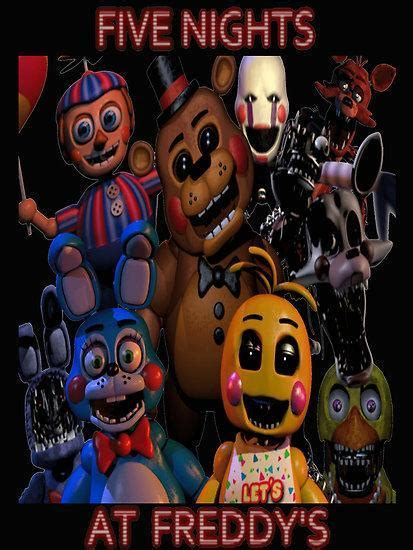 Name the fnaf characters - Scored Quiz