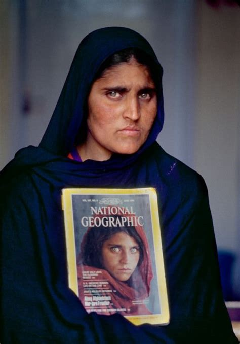 17 years after the orginal photograph by Steve McCurry