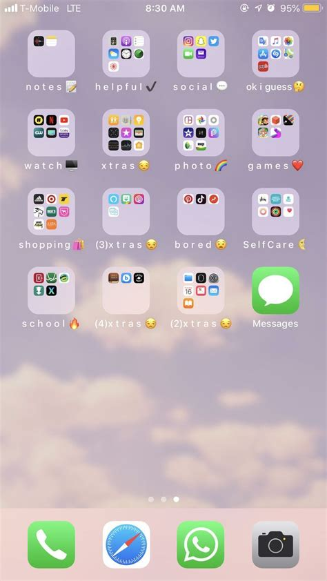 Iphone Icons Organize in 2020 | Iphone organization, Phone