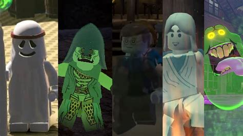 ALL Ghosts in Lego Videogames - YouTube