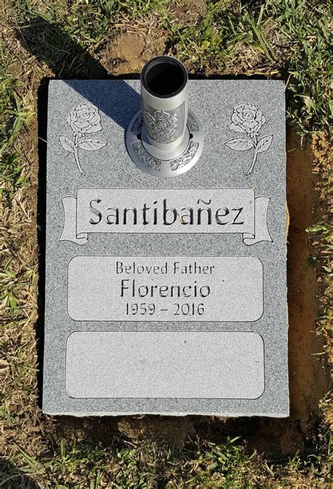 Double Deep Grave Markers / Granite Grave Markers by