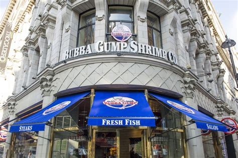 LONDON EATERIES – Bubba Gump – From Leicester Square to