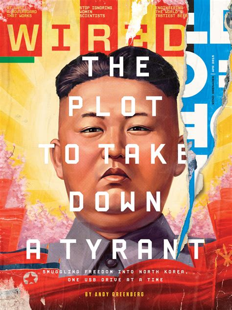 'The Plot To Take Down A Tyrant', WIRED on Behance