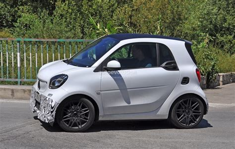 2016 Smart ForTwo Brabus Spotted in Production Guise
