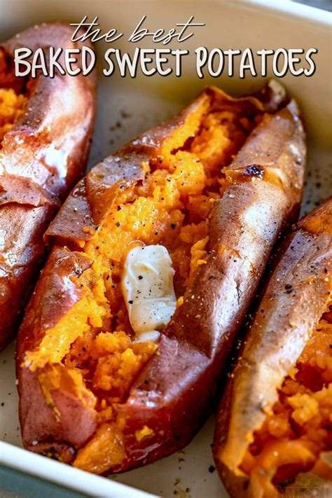 Easy Baked Sweet Potato (How To Bake Sweet Potatoes) - Mom