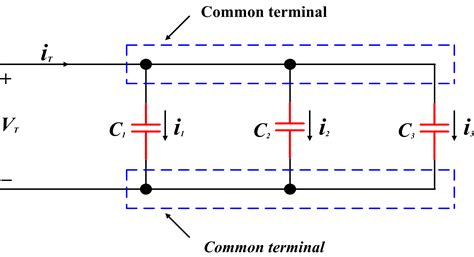 Capacitors in Series and Capacitors in Parallel