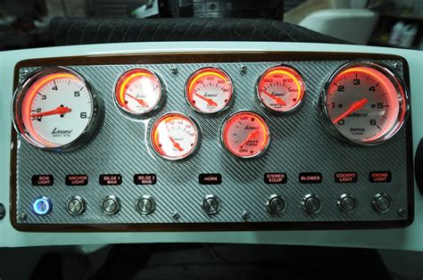Carbon Fiber Dash Panel - The Hull Truth - Boating and