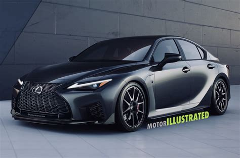2021 Lexus IS F Rendering Brings A Performance Icon Back