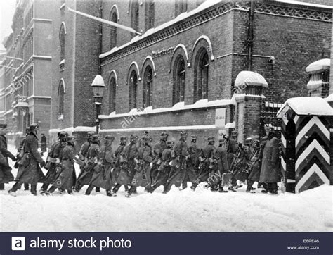 The Nazi propaganda picture shows German Wehrmacht