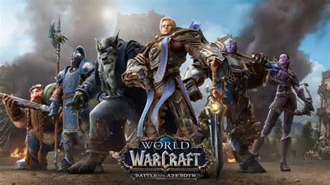 Wallpaper World of Warcraft: Battle for Azeroth, Alliance