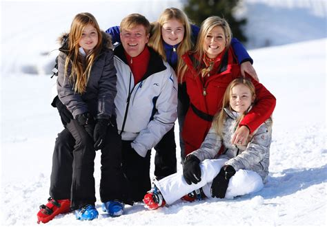 Queen Maxima and Dutch Royal Family Winter Portraits 2016
