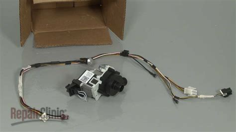 GE Dishwasher Drain Pump Replacement #WD35X20875 - YouTube