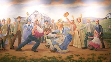 The Distasteful Wall Murals of Pawnee, Indiana   Mental Floss