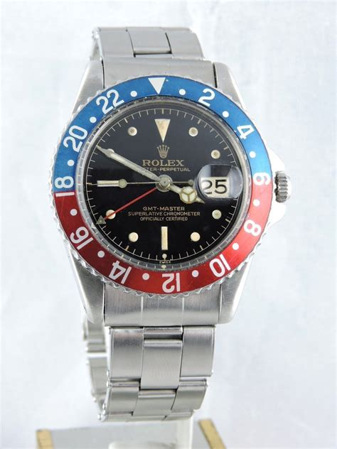 1961 Rolex GMT Master 1675 PCG, Gilt Exclamation Dial