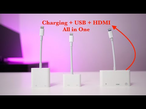 Apple Lightning to 30-pin Adapter: Demo - YouTube
