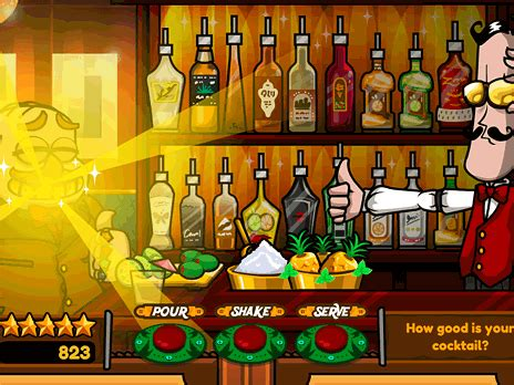 Bartender The Celeb Mix - Play Bartender The Celeb Mix at