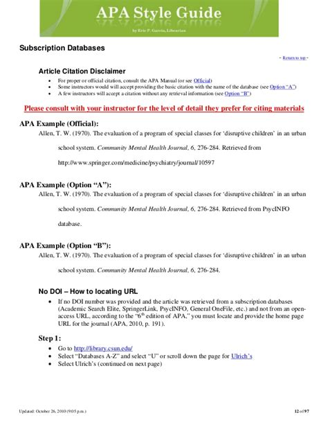 Apa bibliography example indent second line