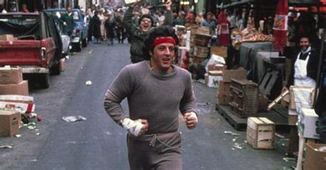 Someone Mapped Out Sylvester Stallone's 'Rocky II