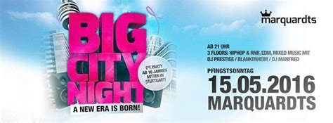 Party - 16er Party Big City Night - Marquardts in