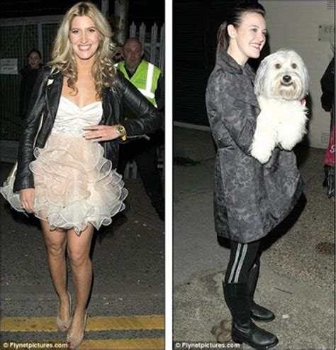 From panel to party! Amanda Holden and Alesha Dixon switch