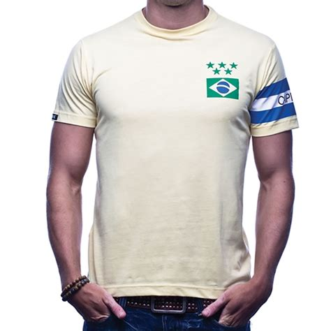 COPA Football - Brasil Capitao T-Shirt - Yellow