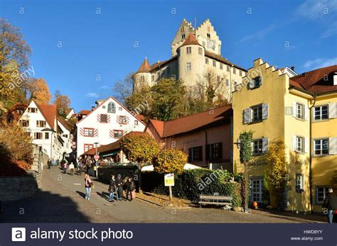 Germany Baden Wurttemberg Meersburg People Stockfotos