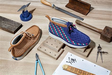 Eccentric Woven Wallabees : Clarks Shoes