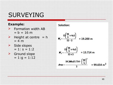 surveying- lecture notes for engineers