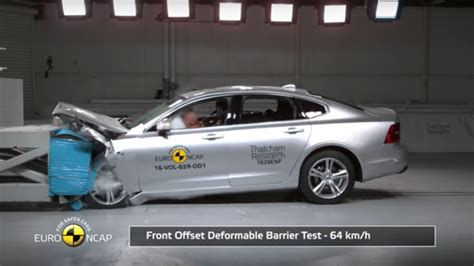 Volvo S90 & V90 get top AEB Pedestrian safety rating from
