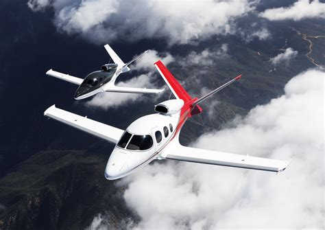 Cirrus Vision Jet: the first aicraft that its owner can pilot