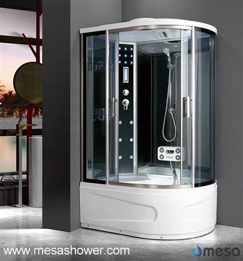 China Corner Type All In One Shower Stall WIth Bathtub