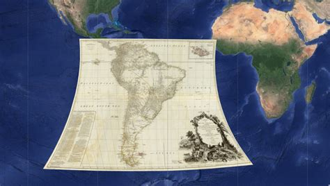 120 Ancient Maps Overlapped on Google Earth Reveal the