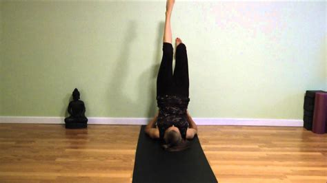 Wall Yoga For Hips and Hamstrings - YouTube
